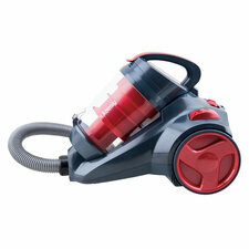 RECONDITIONNÉ : H.KOENIG SLX910  ASPIRATEUR SILENCIEUX POWER & CLEAN ROUGE